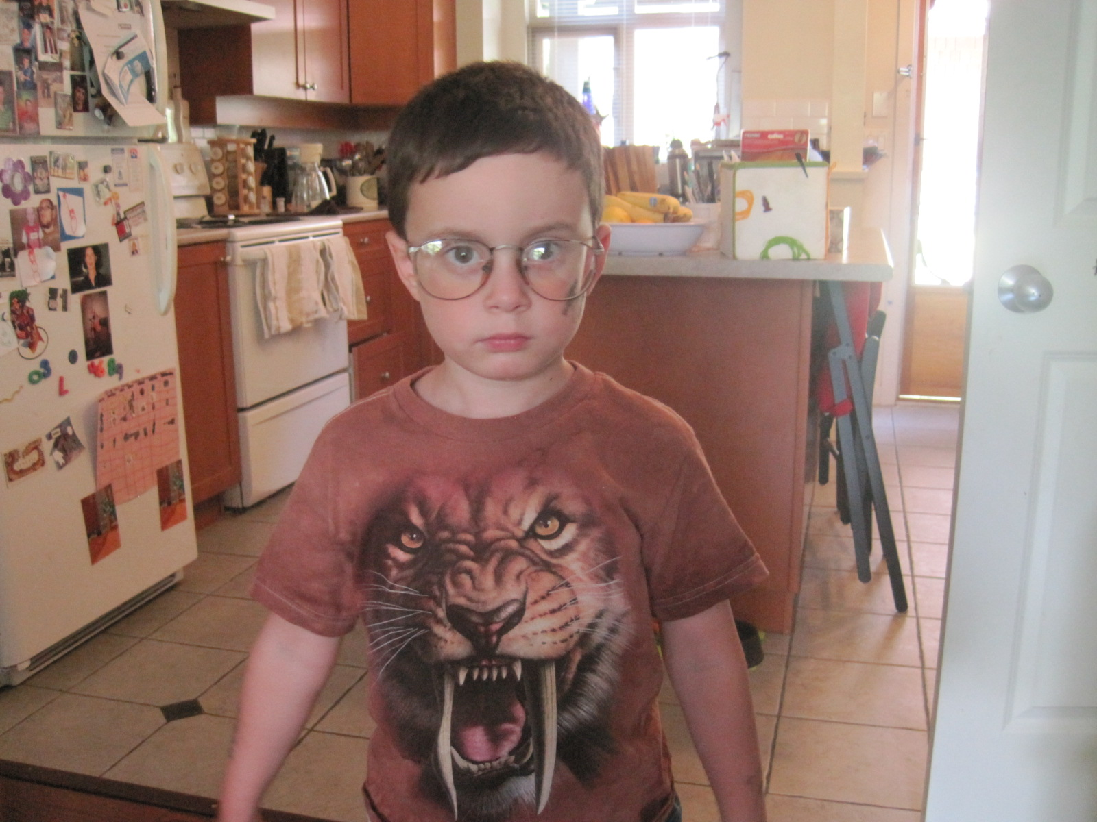In SA's old glasses, your five year old can look like a hipster/old man!